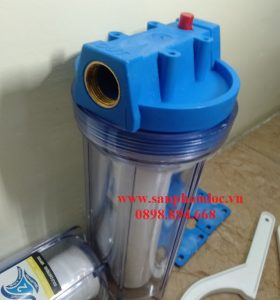 Ly lọc nhựa 10 inch trong suốt