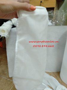 Túi lọc NMO 100 micron size 4 miệng inox