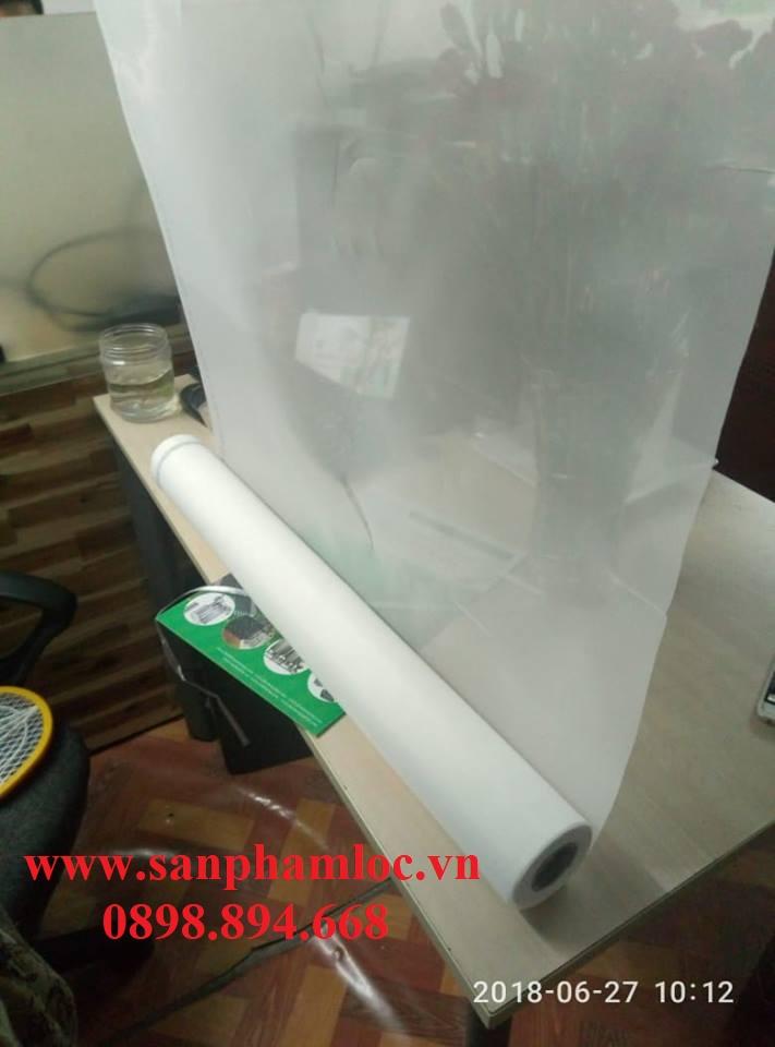 Vải NMO nylon màu trắng