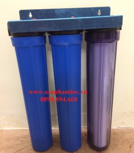 Cốc lọc nước sinh hoạt gia đình 3 cấp