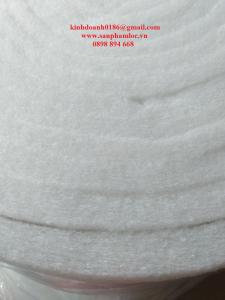 Bông gòn màu trắng