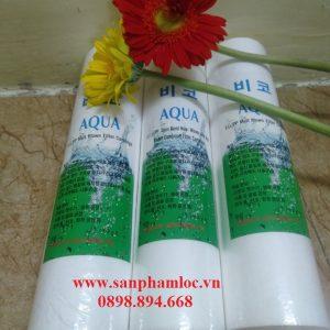 Lõi lọc bông nén Aqua Hàn Quốc 10 inch
