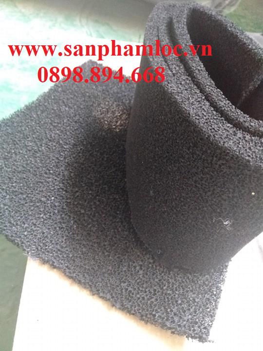 Tấm xốp than đen hoạt tính 10 mm
