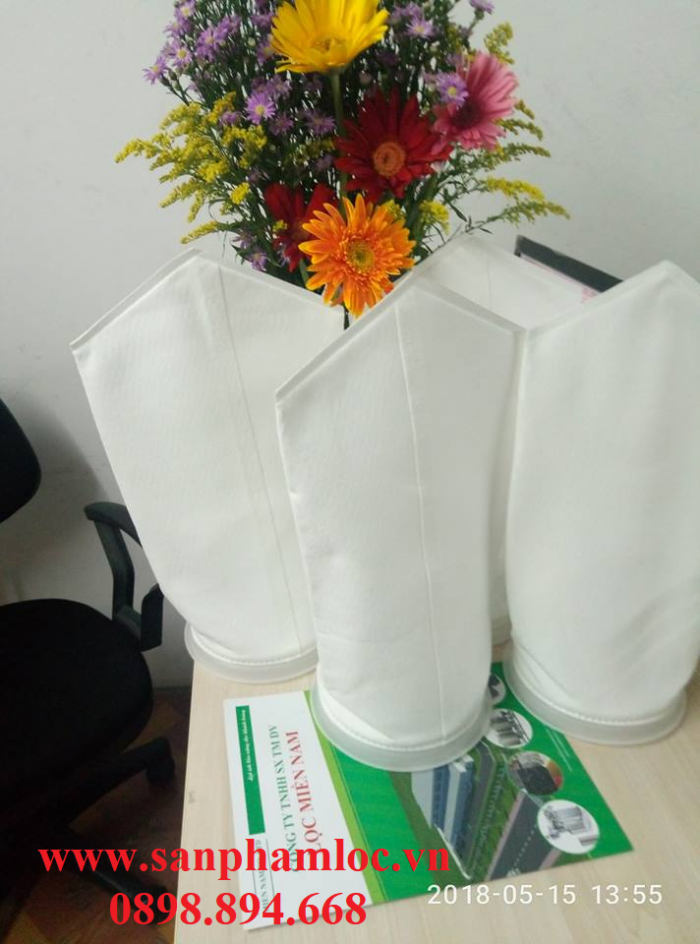 Túi lọc Faqui PE miệng nhựa