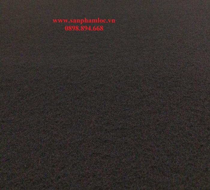 Bông nỉ carbon hoạt tính dày 1cm